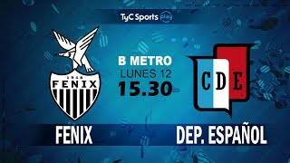 CA Fenix vs Dep.Espanol full match