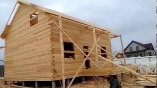 Дом в деревне Слободка построен!