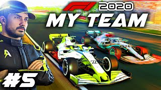 F1 2020 MY TEAM CAREER Part 5: NEW LIVERY & SPONSOR! Harsh Reality Check at Dutch GP?!