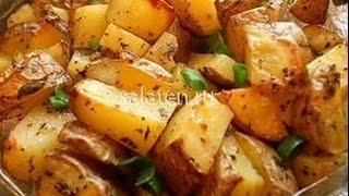 Вкусный картофель в рукаве