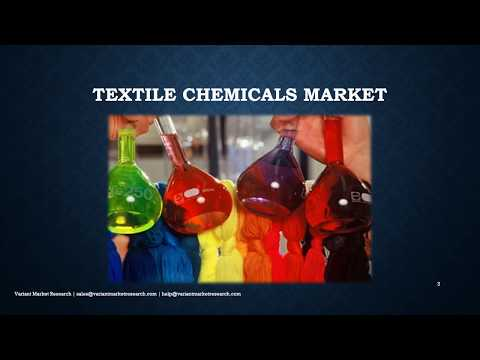 Textile Chemicals Market Global Scenario, Market Size, Outlook, Trend and Forecast, 2015-2024-VMR