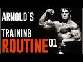 Arnold Schwarzenegger Training Routine 01 | Brust & Rücken Superset