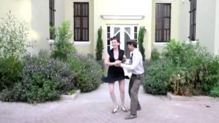 Shorty George & Shirley Osher - Tel Aviv July 2014 - Lindy Hop Bal-Swing Solo Jazz Performance