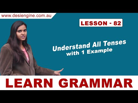 Lesson - 82 Understand All Tenses with 1 Example | Learn English Grammar | Desi Engine India