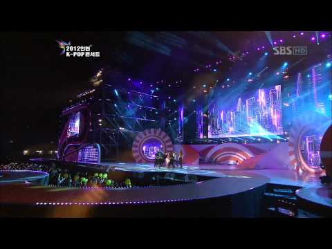 BoA & Teamin - Only One [SBS 2012 Incheon K-Pop Concert]  Live HD