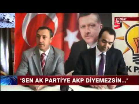 Sen misin? Ak Parti'ye AKP Diyen...!(Başkan Salonu Terk Etti)
