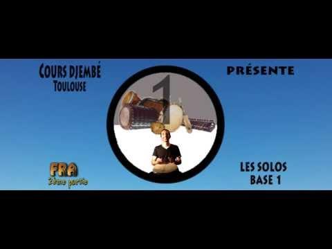 Cours de DJEMBE KARAOKE : FRA solo 1