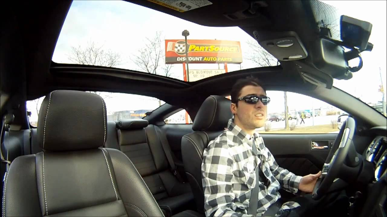 2011 glass roof mustang youtube