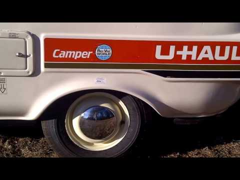 U-Haul UHaul CT13 original  Camper Trailer for sale  #1