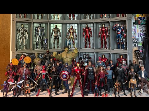 My Action Figure Collection Tour! Hot Toys, Transformers, Marvel Legends, TMNT, MMPR & More! 4/21/20