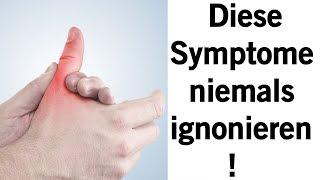 Diese Symptome einer Krebserkrankung werden oft ignoriert!