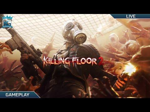Killing Floor 2!   Let's Kill Some Zombies!   1080p 60FPS!