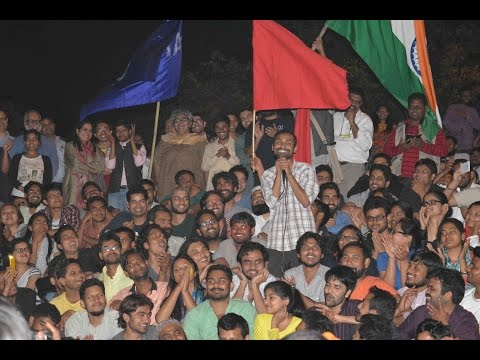 Anirban returns to JNU's Freedom Square - Full Speech | #StandWithJNU