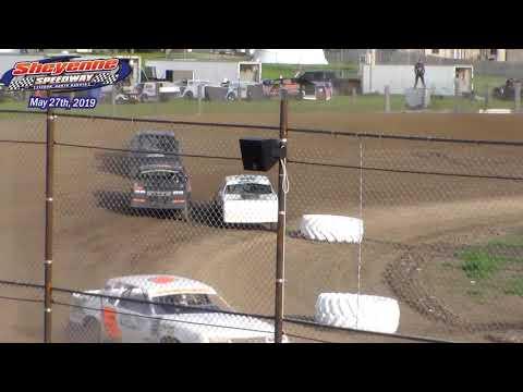 Sheyenne Speedway WISSOTA Street Stock Heats (5/27/19)