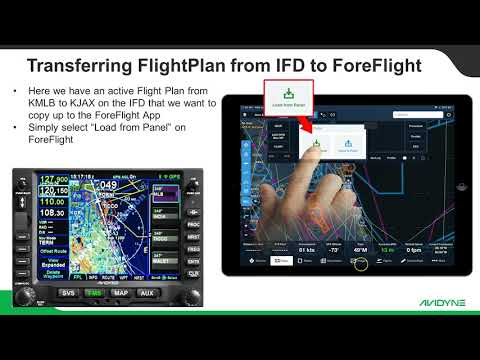 Using Foreflight with your IFD
