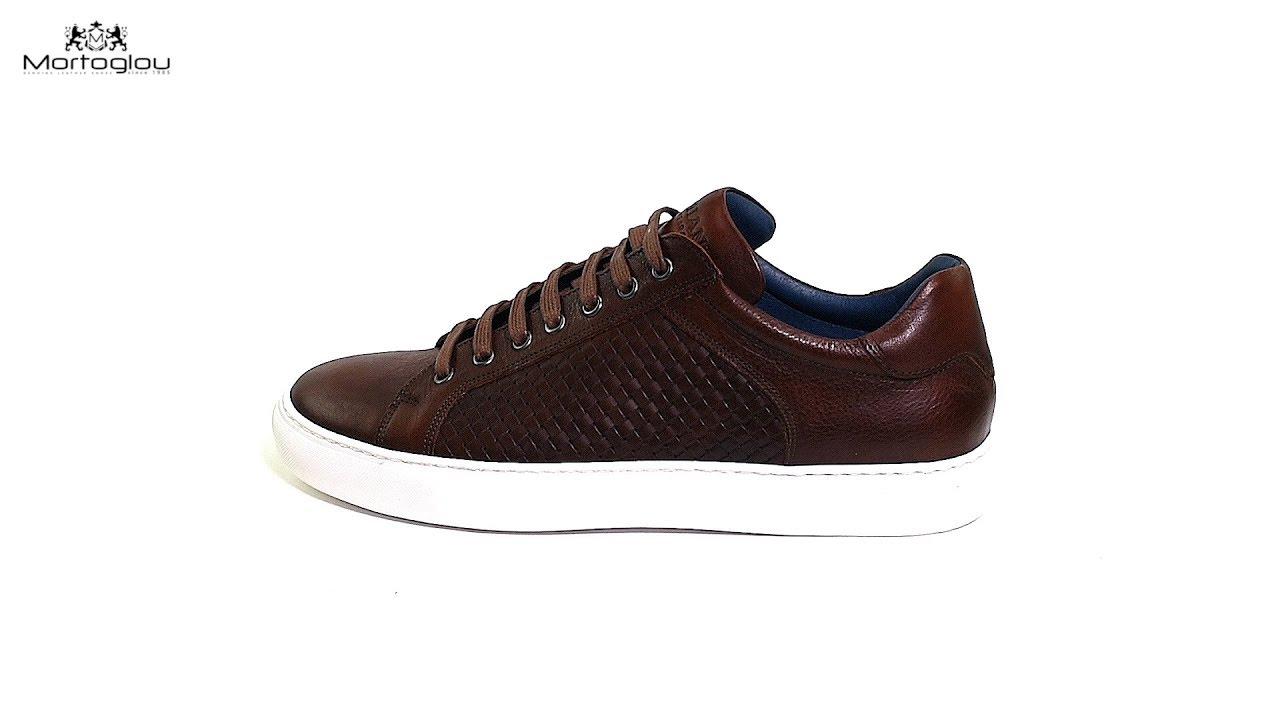 f5c43117165 Damiani Ανδρικά Παπούτσια Casual 320 Καφέ Δέρμα
