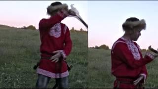 Шашка казачья боевая