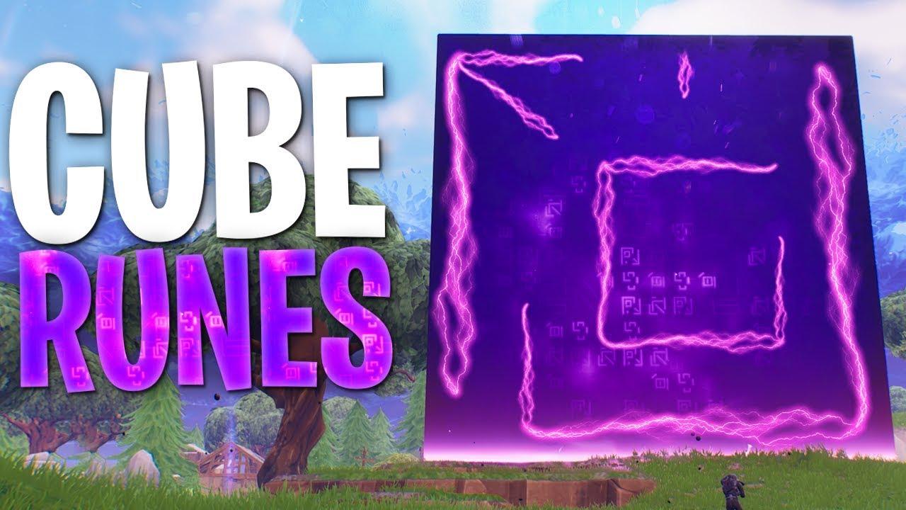 Fortnite Cube Runes Fortnite Story Theory Youtube