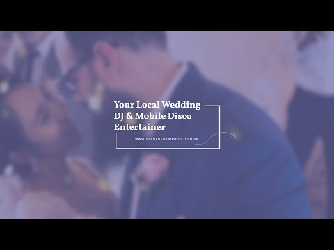 Your Local Wedding DJ & Mobile Disco Entertainer | Golden Sounds Disco