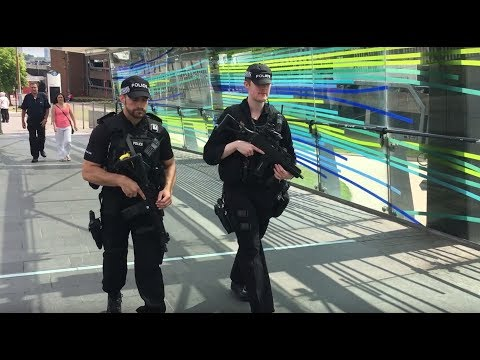 Wolverhampton reacts to armed police presence