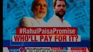 Rahul Gandhi announces Basic Income Scheme for 20% of poor with Rs 6,000 per month, Who'll pay?