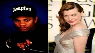Actress Milla Jovovich interview Talks about Eazy-E| Eazy influence and changed my life