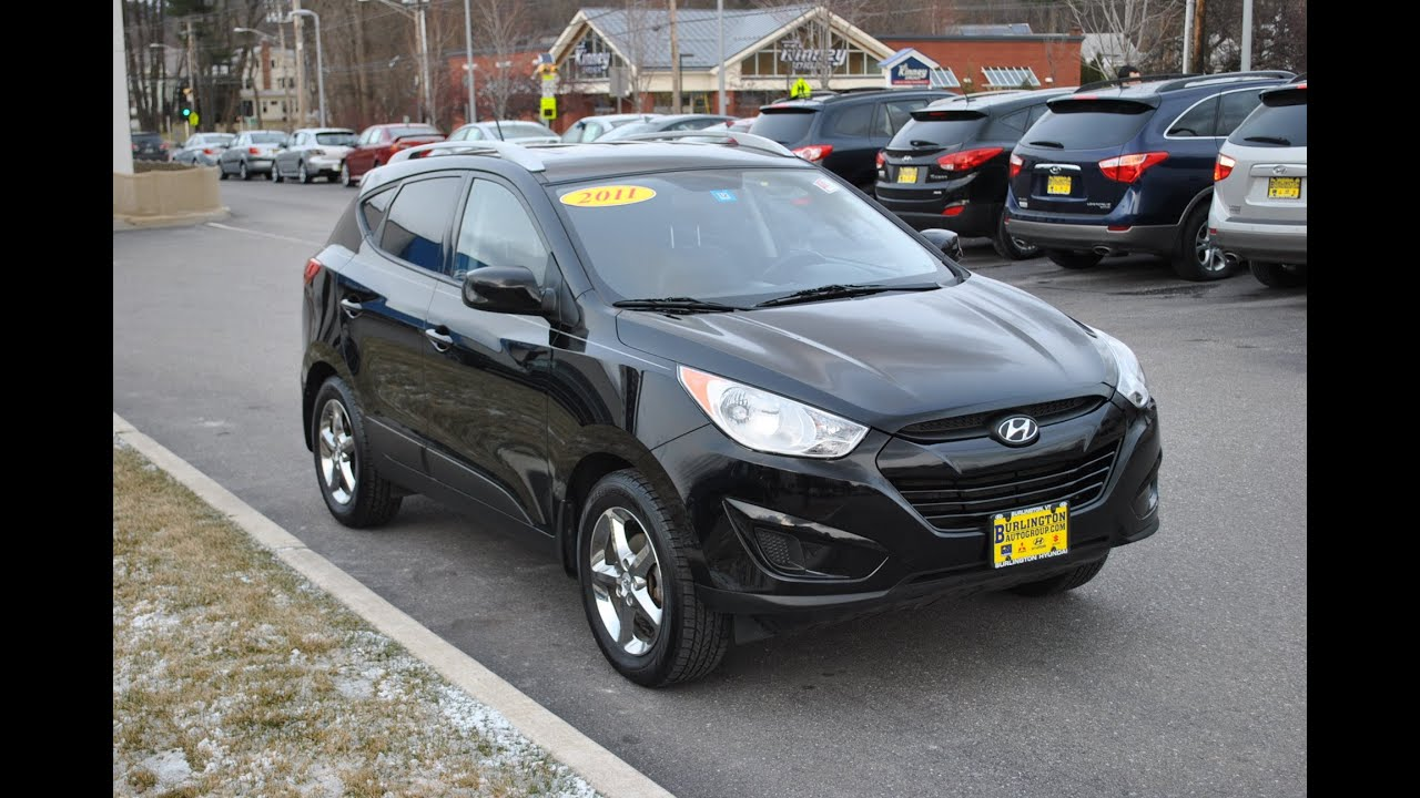 used 2011 hyundai tucson gls burlington hyundai youtube. Black Bedroom Furniture Sets. Home Design Ideas