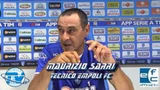 PianetaEmpoli.it - EFChannel | Conferenza pregara mister Sarri (Udinese-Empoli)