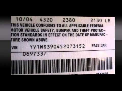 2005 Volvo S40 2 4l I5 Abs Traction Control Side Airbags