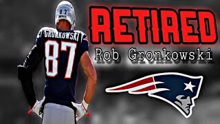 Patriots TE Rob Gronkowski announces his retirement from the NFL