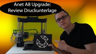 Gambar cover Anet A8: Review Druckunterlage
