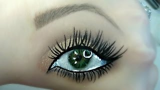 Smokey Eye Hand Makeup Tutorial | Beautybyjosiek