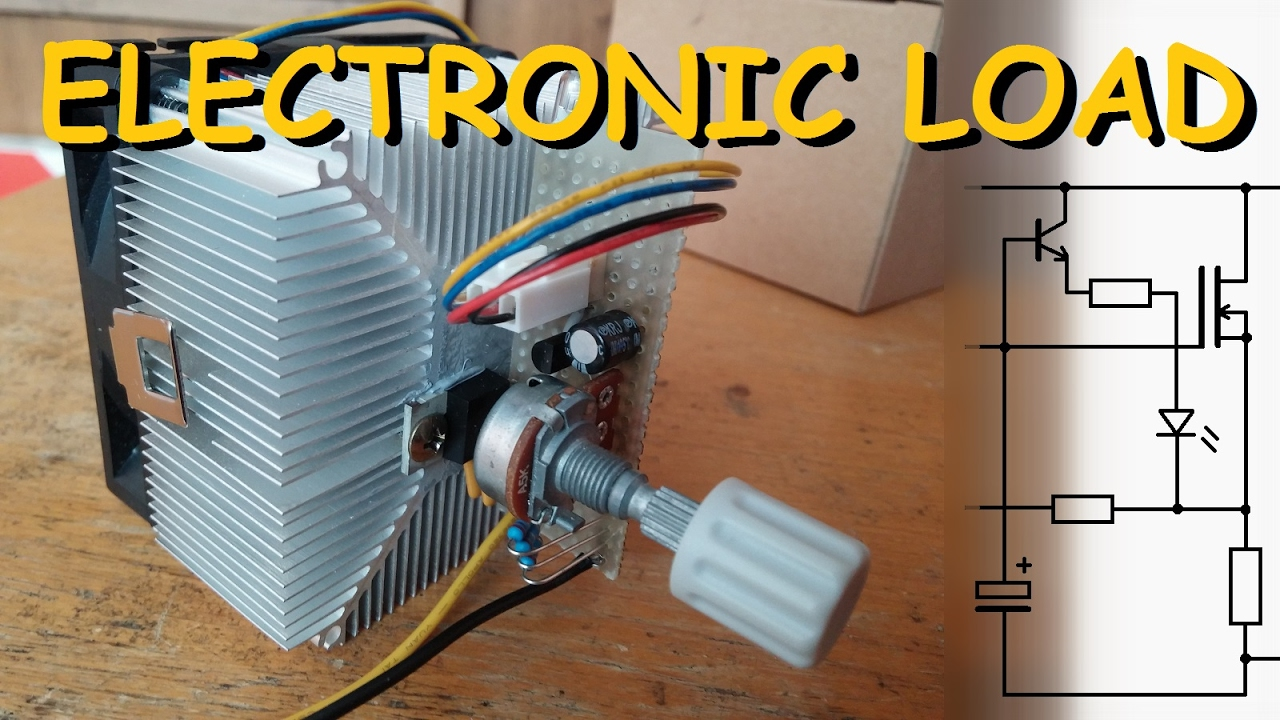 Electronic Load Diy Constant Current Youtube