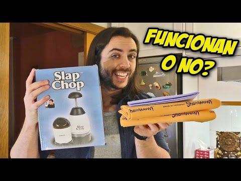 TENGO EL SLAP CHOP Y EL SHAMWOW!!! ¿FUNCIONAN O SON UN TIMO?
