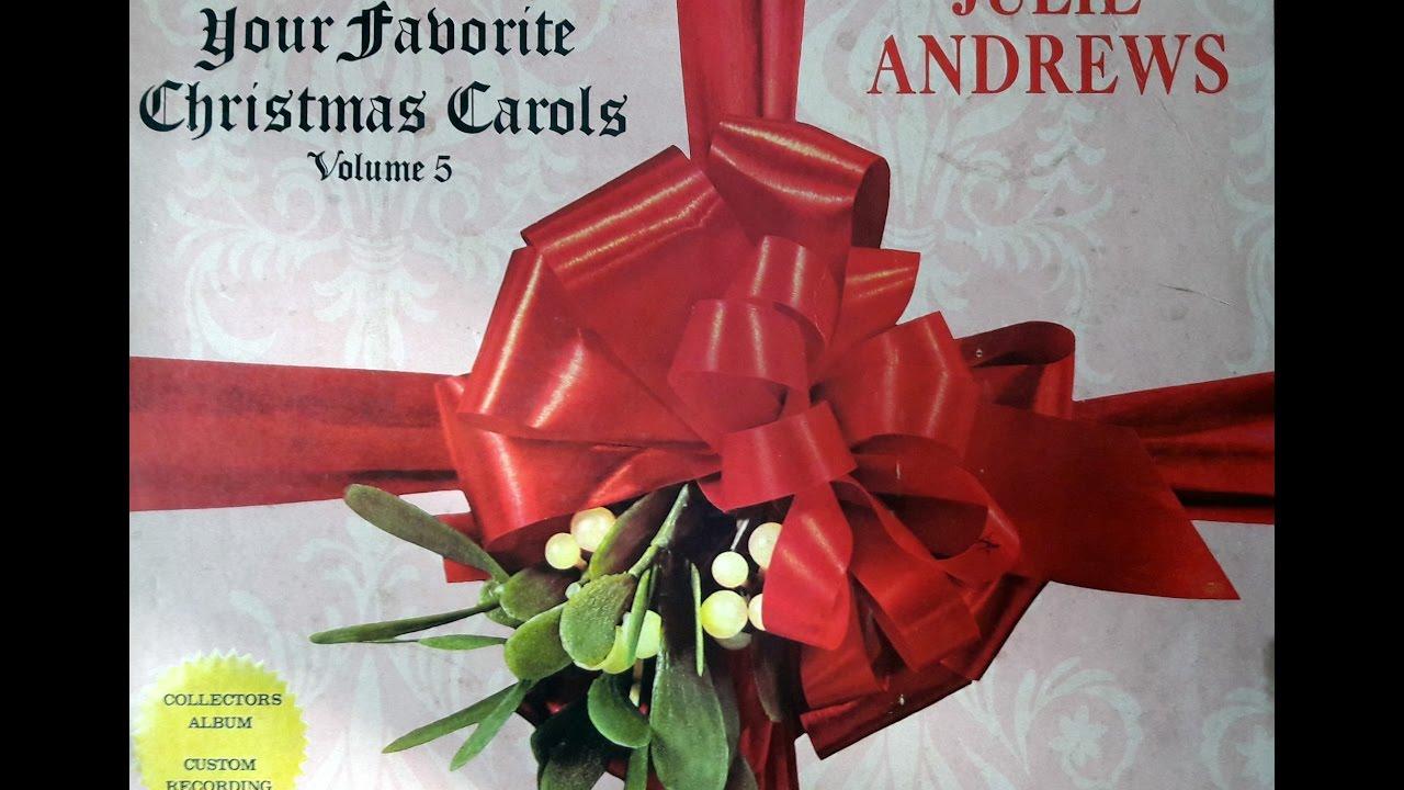 julie andrews your favorite christmas carols vol 5