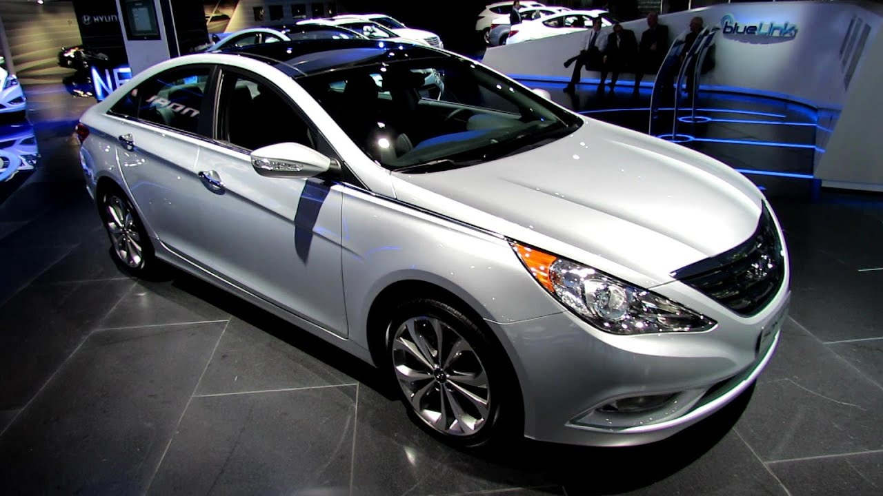 2013 Hyundai Sonata 2 0T Limited Exterior and Interior