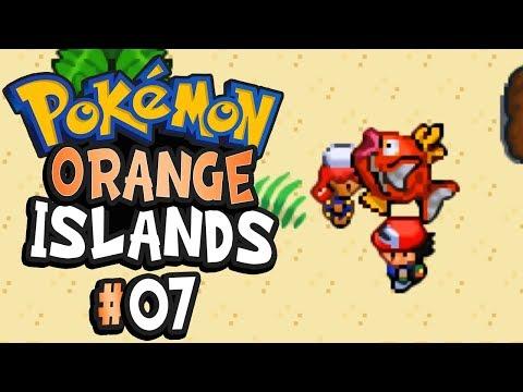 Pokemon Orange Islands Part 7 GIANT MAGIKARP - GBA Rom Hack Gameplay Walkthrough