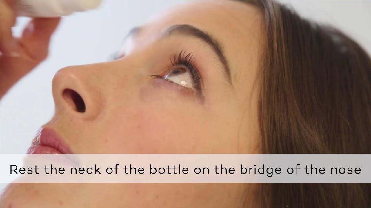 How to Instill Eye Drops