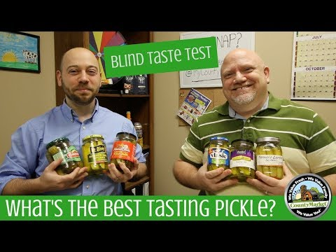 What's the Best Pickle? Blind Taste Test and Ranking