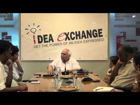 Idea Exchange: A link between education and telecom: Kapil Sibal