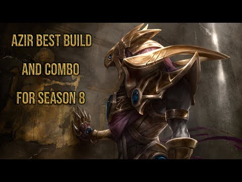 AZIR BEST BUILD AND BEST COMBO AND TRICK S8