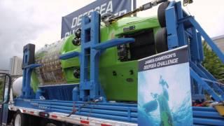 Deepsea Challenger at the Georgia Aquarium 6-6-13