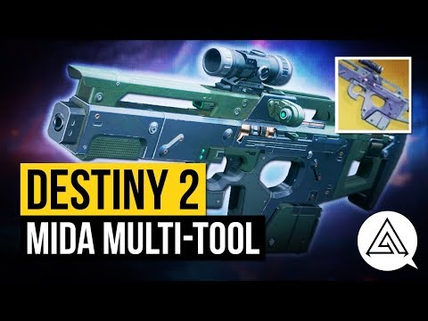 DESTINY 2 | How to Get 'MIDA Multi Tool' Exotic Scout Rifle + Gameplay & Perks