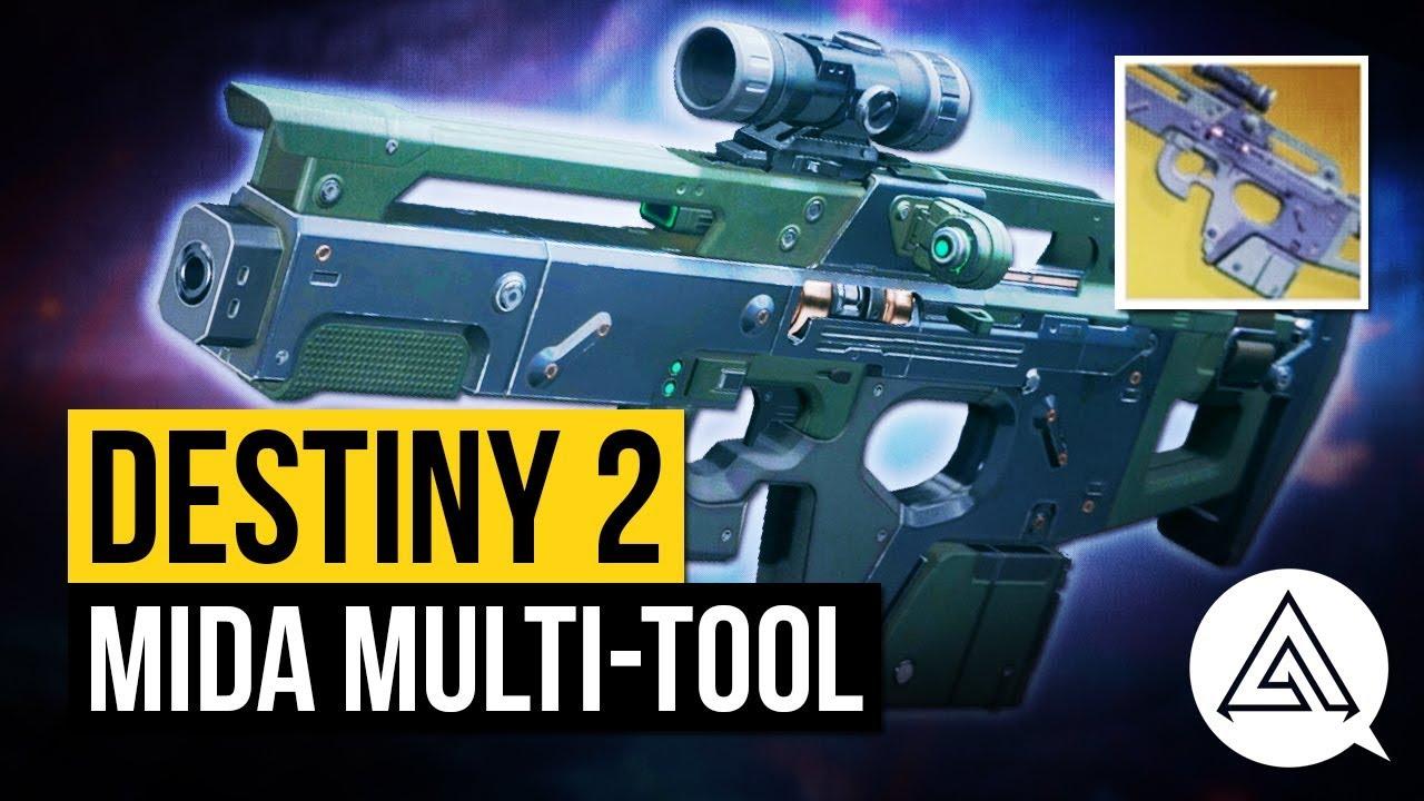 Destiny 2 Mida Multi-Tool Exotic - How to get the Mida Multi