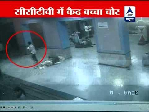 CCTV catches thief stealing children in Mumbai