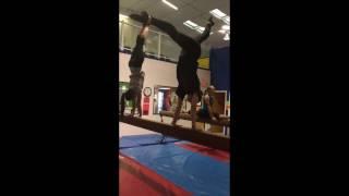 Mannequin Challenge Saga Gymnastics
