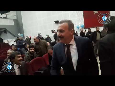 Kars Belediye Başkan Adayı Naif Alibeyoğluna Coşkulu Karşılama