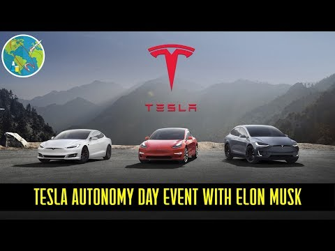 TESLA Autonomy Day Event Mp3