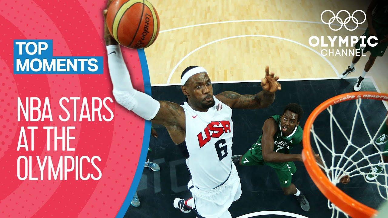 NBA Stars at the Olympics!   Top Moments