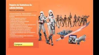 I buy the LIMITED EDITION OF FOUNDERS - Fortnite Save the World//-KnoxLove//